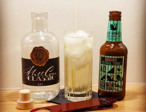 Hill Gin Classic x Aqua Monaco Herbal Tonic