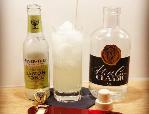 Hill Gin Classic x Fever Tree Lemon Tonic